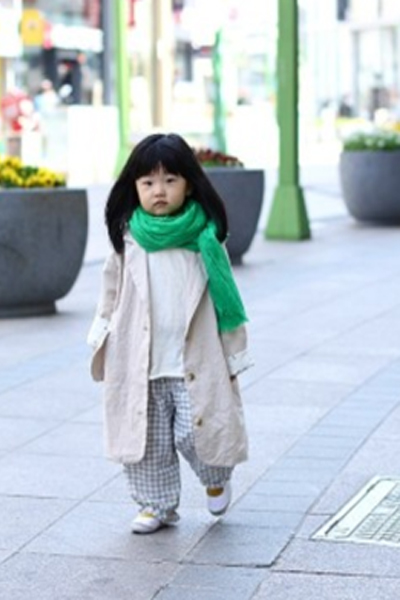 Toddler Korean Street Fashion