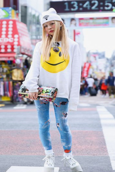 fun Harajuku street fashion