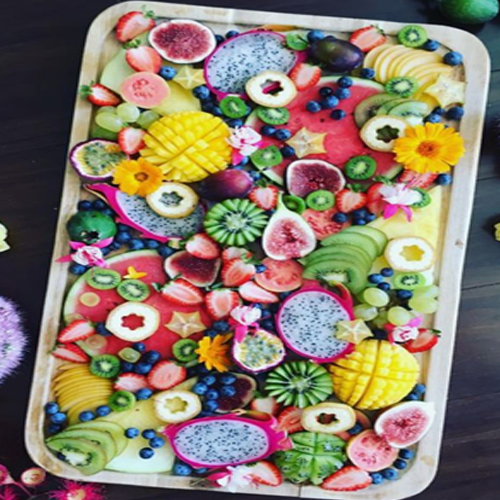 All fruits grazing table